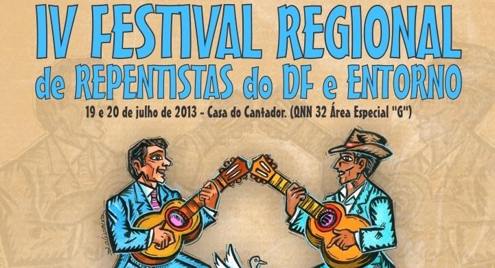 Festival Regional de Repentistas do DF e Entorno – 4ª Edição