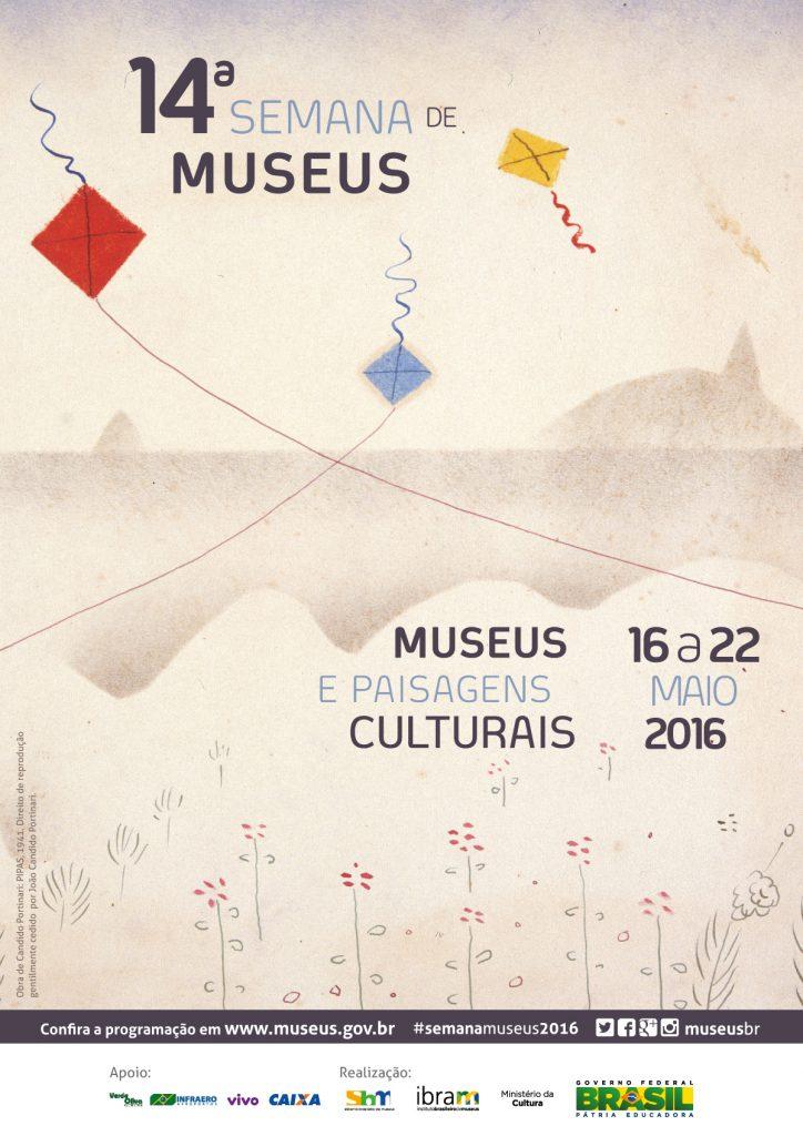 Guia de museus – 14ª Semana Internacional de Museus