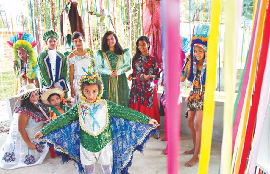 Projeto do programa Oi Novos Brasis preserva cultural local paraense