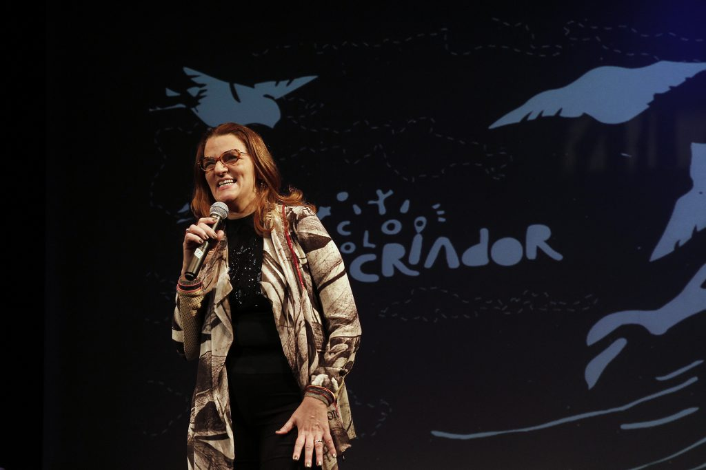 Entrevista com Ana Lúcia Pardo, atriz, jornalista e produtora cultural.