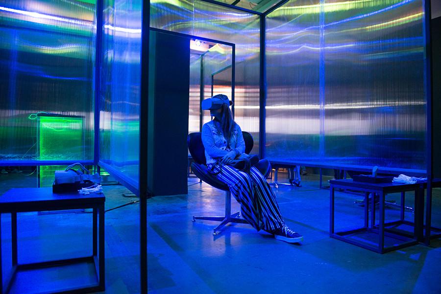 Realidade virtual para outra visão da vida real