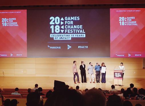 """""""Games for Change 2018: os games estimulam aprendizagens significativas"""" por Fernanda Sarmento"""