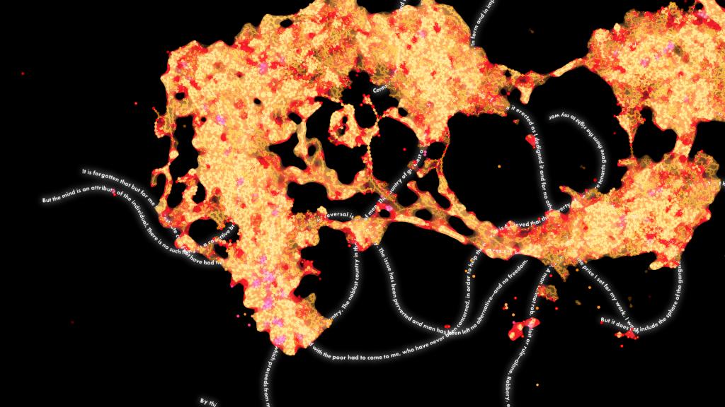 Existência Numérica: mostra de arte com Big Data