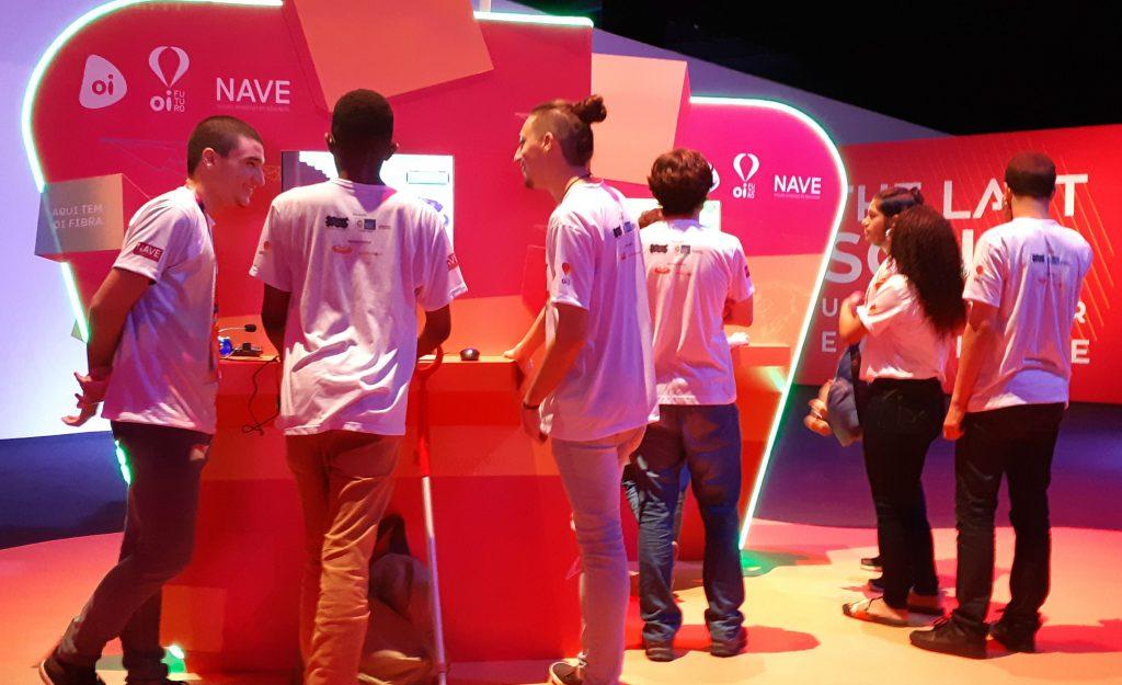 NAVE no maior evento de games da América Latina