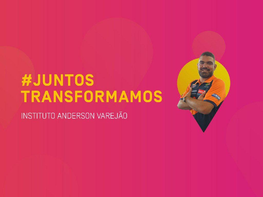 #JuntosTransformamos: Instituto Anderson Varejão ajuda jovens a sonhar