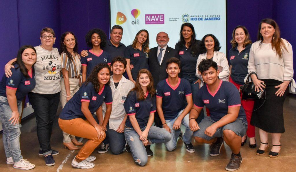 NAVE: Oi e governo do Rio renovam parceria até 2024