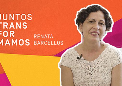 Juntos Transformamos com Renata Barcellos: novas tecnologias que constroem novas linguagens