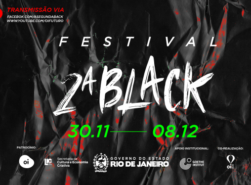 Festival 2ª Black: aulas, performances e teatro online