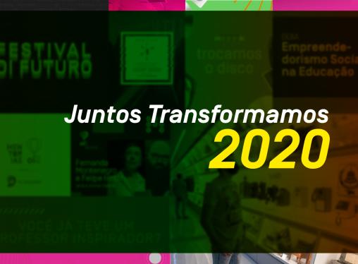 Juntos Transformamos em 2020: o ano do Oi Futuro em 10 marcos