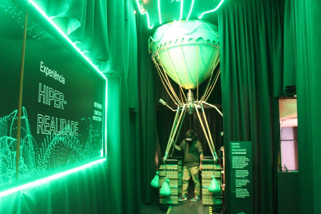 Voo panorâmico de balão: nova atração de hiper-realidade do Musehum